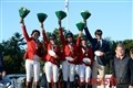 Italy Takes Gold Medal in Show Jumping Team Test