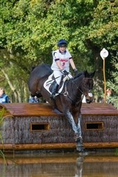 Collett and Jung take Young Horse Eventing gold at Le Lion