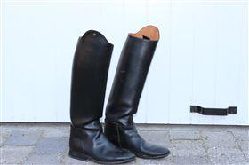 Petrie læderridestøvler sælges!