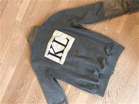 Kingsland sweatshirt med lynlås