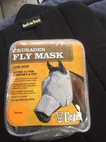 Cashel fluemaske uden øre med mule