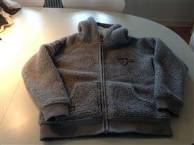 Super varm vamset Equipage hættetrøje
