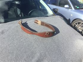 Brun lædergjord 130