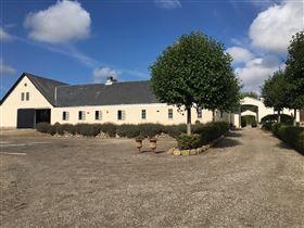 Lækker hesteejendom m 22 x 47 ridehal på Nordfyn