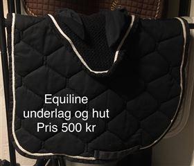 Equiline underlag og hut sælges