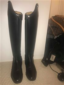 Ny Pris! Sprit nye dressur ridestøvler med  høj dressurbue