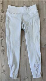Hvide tights fullgrip str L