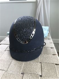 QHP Glitter hjelm