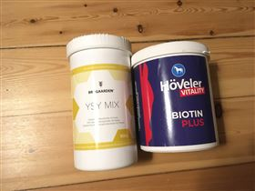 YSY blanding og Hoveler Biotin Plus