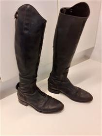 Blød springstøvle