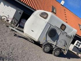 4 heste (ponier) trailer